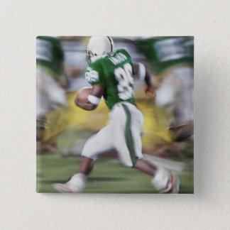 USA, California, American football player 15 Cm Square Badge