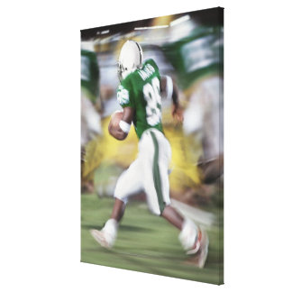 USA, California, American football player Canvas Print