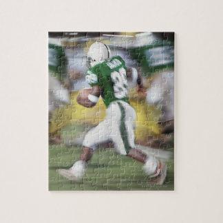 USA, California, American football player Jigsaw Puzzle