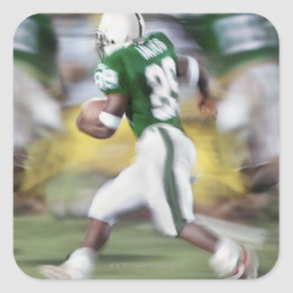 USA, California, American football player Square Sticker