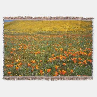 USA, California, Antelope Valley California Throw Blanket