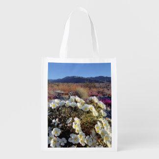 USA, California, Anza-Borrego DSP. Dune evening 2 Reusable Grocery Bag