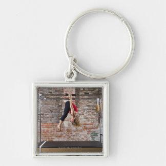 USA, California, Berkeley, Mid adult woman Key Ring