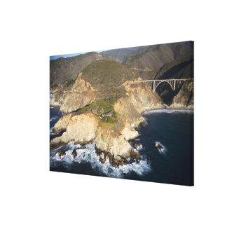 USA. California. Big Sur. Bixby Bridge Canvas Print