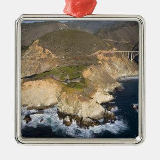 USA. California. Big Sur. Bixby Bridge Christmas Ornament