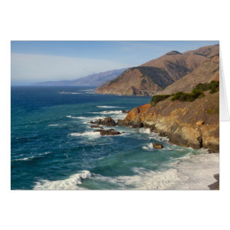 USA, California, Big Sur Coastline Card