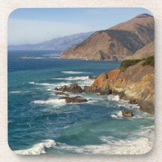 USA, California, Big Sur Coastline Coasters