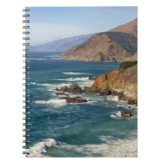 USA, California, Big Sur Coastline Notebook