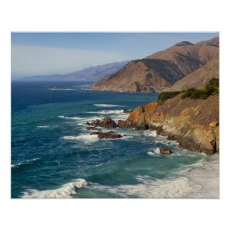 USA, California, Big Sur Coastline Poster