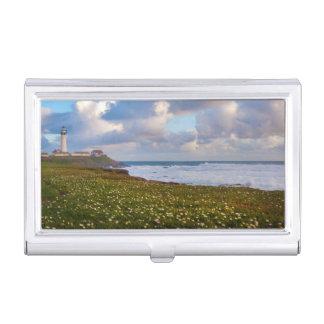 USA, California. Big Sur Panorama 2 Business Card Holder