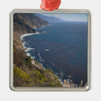 USA, California, Big Sur, Rugged coastline Christmas Ornament