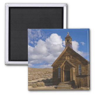 USA, California, Bodie, Old church in desert Square Magnet