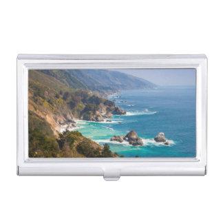 USA, California. California Coast, Big Sur Business Card Holder