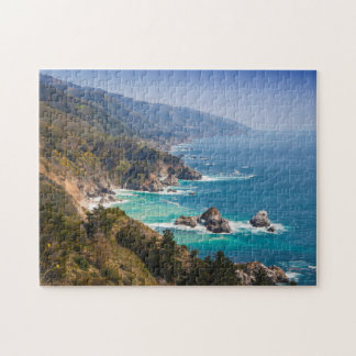 USA, California. California Coast, Big Sur Jigsaw Puzzle