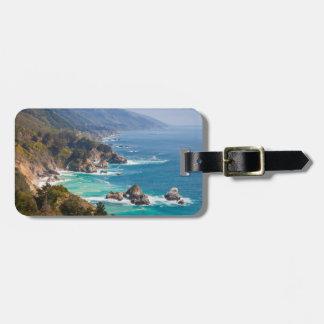 USA, California. California Coast, Big Sur Tags For Luggage