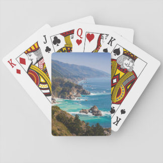 USA, California. California Coast, Big Sur Playing Cards