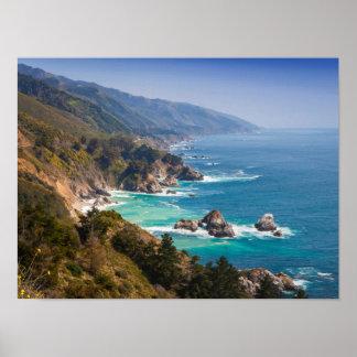 USA, California. California Coast, Big Sur Poster