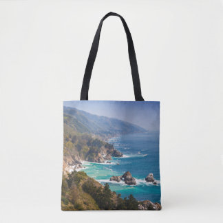 USA, California. California Coast, Big Sur Tote Bag