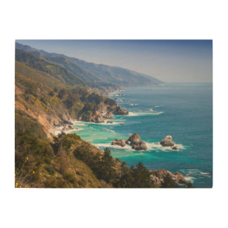 USA, California. California Coast, Big Sur Wood Wall Decor