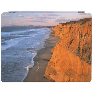 USA, California, Cliffs At Pescadero State Beach iPad Cover