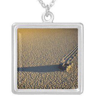 USA, California, Death Valley National Park. 2 Silver Plated Necklace