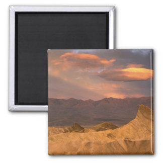 USA, California, Death Valley National Park. 2 Square Magnet