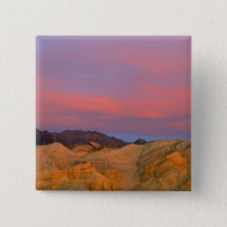 USA, California, Death Valley NP. Sunset offers 15 Cm Square Badge