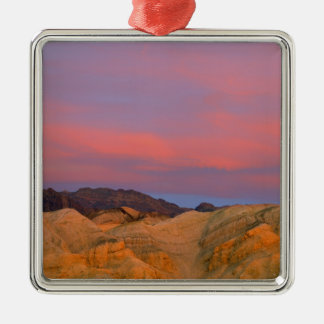 USA, California, Death Valley NP. Sunset offers Christmas Ornament