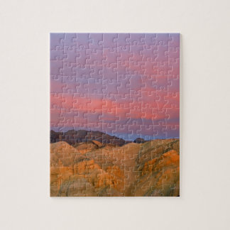 USA, California, Death Valley NP. Sunset offers Jigsaw Puzzle