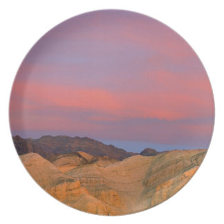USA, California, Death Valley NP. Sunset offers Plate