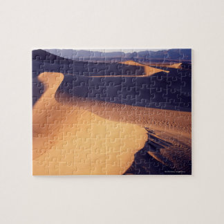 USA, California, Death Valley, sand dunes, dawn Jigsaw Puzzle