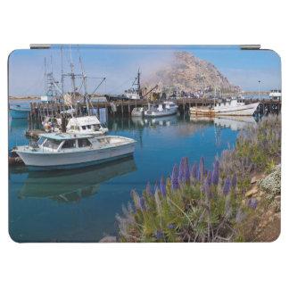 USA, California. Docked Boats At Morro Bay iPad Air Cover