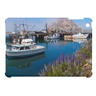 USA, California. Docked Boats At Morro Bay iPad Mini Cover