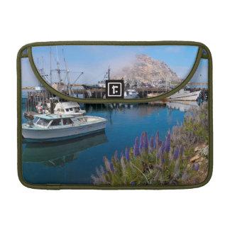 USA, California. Docked Boats At Morro Bay Sleeve For MacBook Pro