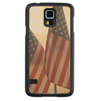 USA, California, Gold Country, Amador City: Carved Maple Galaxy S5 Case