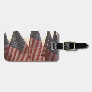 USA, California, Gold Country, Amador City: Luggage Tag