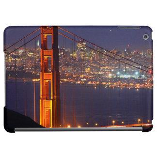 USA, California. Golden Gate Bridge At Night