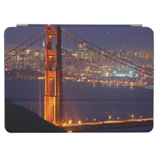 USA, California. Golden Gate Bridge At Night iPad Air Cover