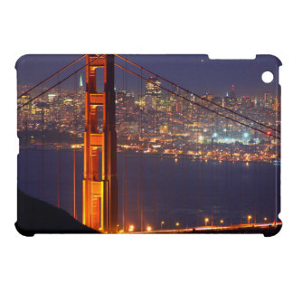 USA, California. Golden Gate Bridge At Night iPad Mini Case
