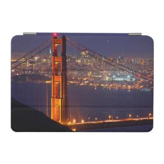 USA, California. Golden Gate Bridge At Night iPad Mini Cover