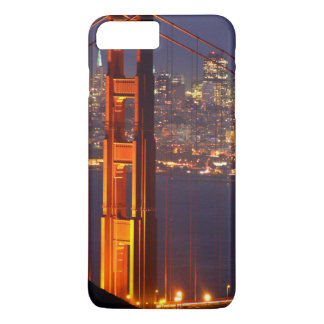 USA, California. Golden Gate Bridge At Night iPhone 8 Plus/7 Plus Case