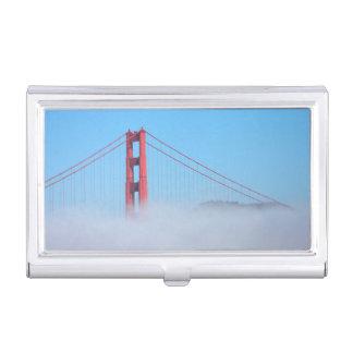 USA, California. Golden Gate Bridge In Morning Business Card Holder