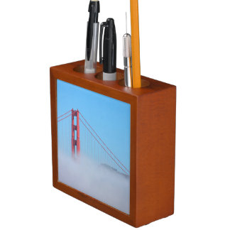 USA, California. Golden Gate Bridge In Morning Desk Organiser