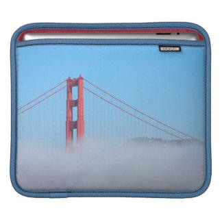 USA, California. Golden Gate Bridge In Morning iPad Sleeve