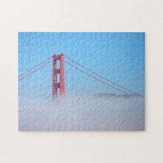 USA, California. Golden Gate Bridge In Morning Jigsaw Puzzle