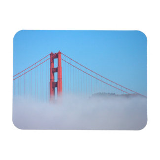 USA, California. Golden Gate Bridge In Morning Magnet