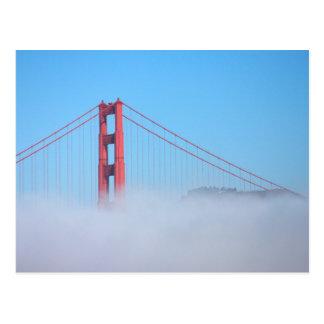 USA, California. Golden Gate Bridge In Morning Postcard