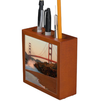 USA, California. Golden Gate Bridge View Desk Organiser
