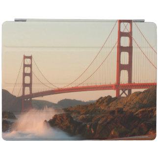 USA, California. Golden Gate Bridge View iPad Cover