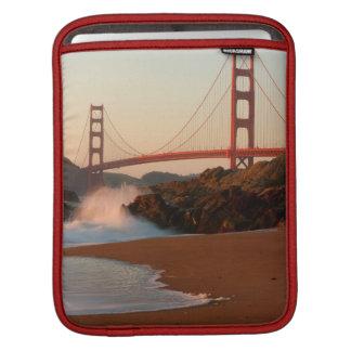 USA, California. Golden Gate Bridge View iPad Sleeve